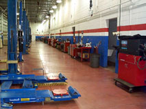 Bekelian Auto Group shop floor